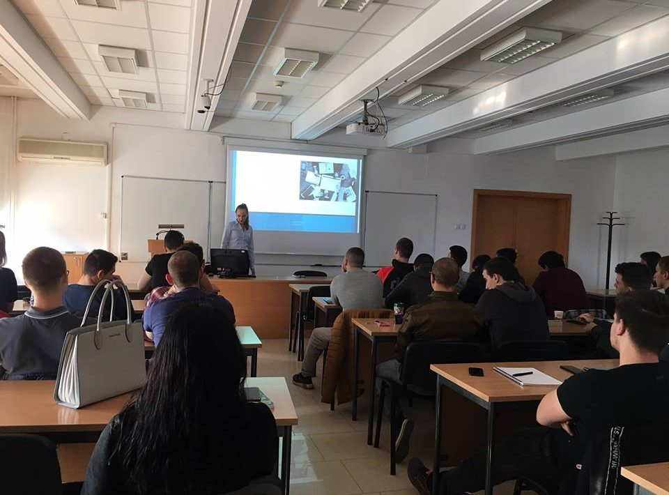 Екатерина Новицка - гост-лектор за студентите по Информатика и Маркетинг на Нов Български Университет